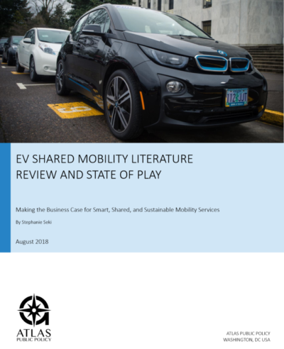 EV Shared Mobility Research – Atlas Public Policy